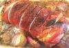 Receita de Pernil de Porco Recheado