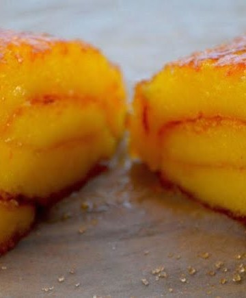 Receita de Rocambole de laranja fofinho