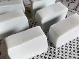 Sabão Caseiro sem soda