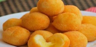 Salgadinhos de queijo