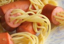Receita de Salsicha com tentáculos