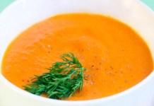 Receita de Sopa de Cenoura