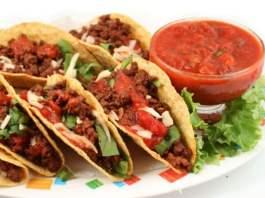 Receita de Tacos Mexicanos