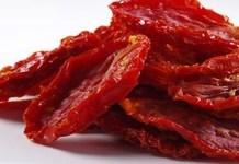 Receita de Tomate seco de microondas