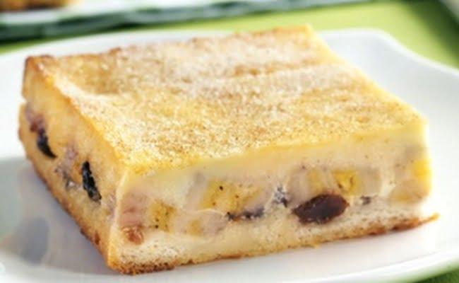 Receita de Torta De Banana Com Pão De Forma