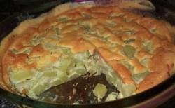 Torta de Chuchu de Forno