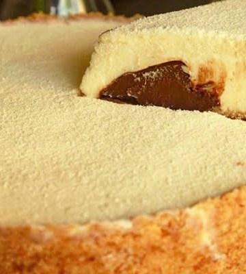 Receita de Torta de Leite Ninho com Nutella