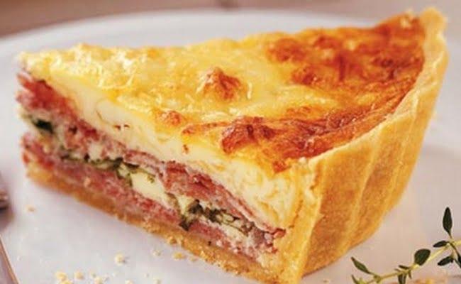 Receita de Torta de Salame Rápida
