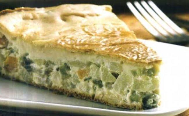 Receita de Torta de Soja com Legumes