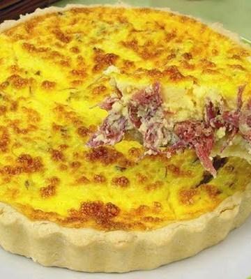 Receita de Torta de abóbora com catupiry