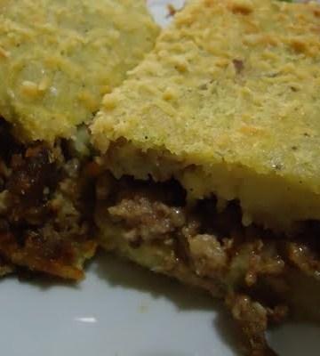 Receita de Torta de Chuchu com Recheio de Carne