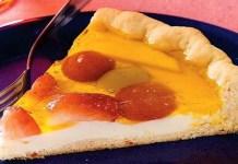 Receita de Torta de frutas diet