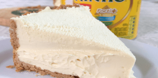 Receita de Torta de leite Ninho Cremosa