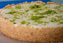 Receita de Torta de limão Light
