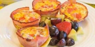 Receita de Tortinha Proteica