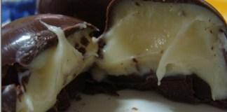 Trufa de limão e Chocolate Branco