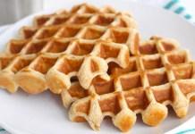 Receita de Waffle de liquidificador