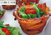Cestinha de Bacon