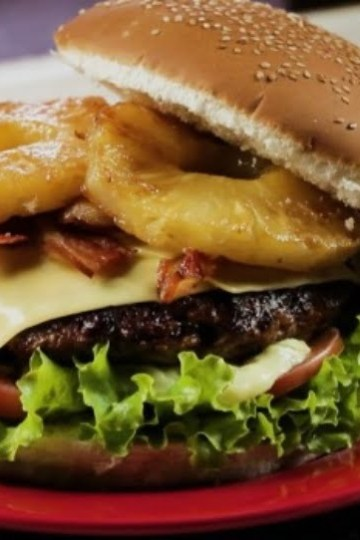 Hambúrguer Suíno Gourmet
