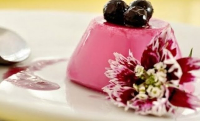 Receita Mousse de Blueberry