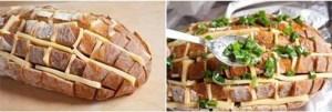 Receita de Pão Italiano Recheado com Queijo