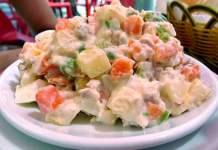 Receita de Salada Olivier Salada Russa