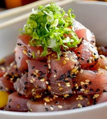 Receita de tataki de atum