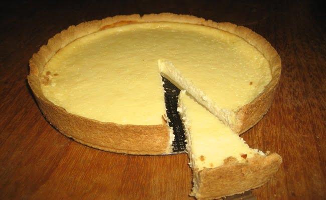 Receita de Torta falsa de queijo
