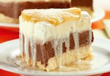 Receita de Torta Gelada de Abacaxi e Chocolate