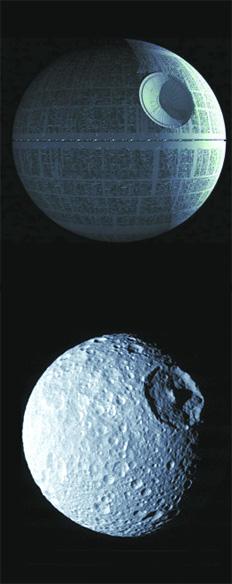 Nuevas Imagenes y Mimos para Mimas,una de las Lunas mas raras del Sistema  Solar (1/3)