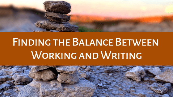 Finding the balance between your work life and your writing can be tricky. We dive into some of our best tips in this blog post!