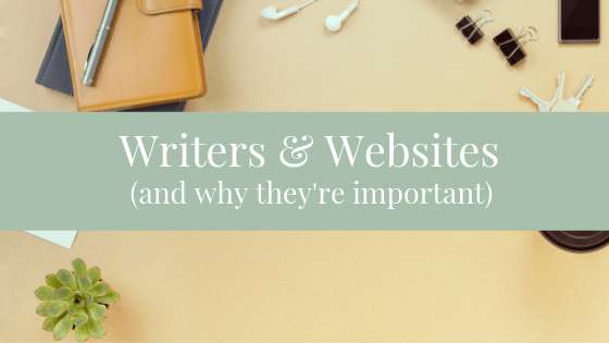 Being a writer means you need a website! These two things go hand in hand and are required if you hope to be successful.