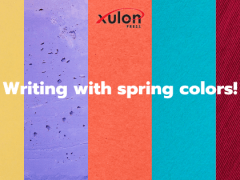 Writing With Spring Colors!