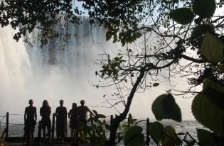 De Lumagwe watervallen.