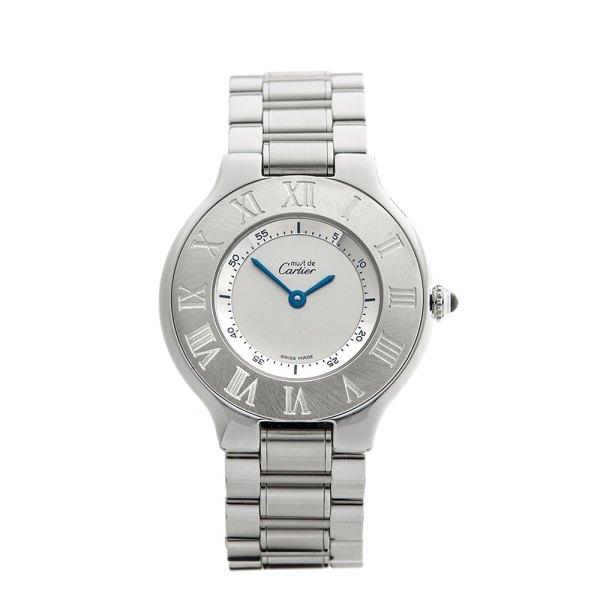 Cartier De 21 1330 2000' W3707 Hand Watches