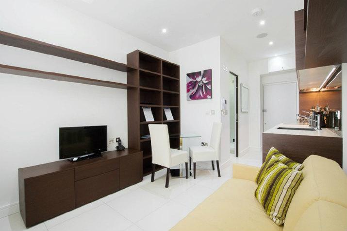 дизайн маленькой квартиры студии 1
