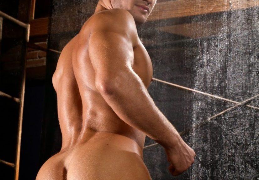Muscular Man Naked