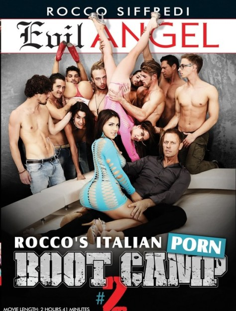 Italian Porn Boot Camp 2 Porn DVD Image