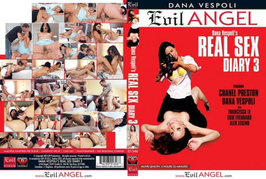 Real Sex Diary 3 Porn DVD Image