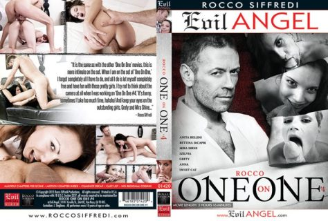 Rocco One on One 4 Porn DVD Image