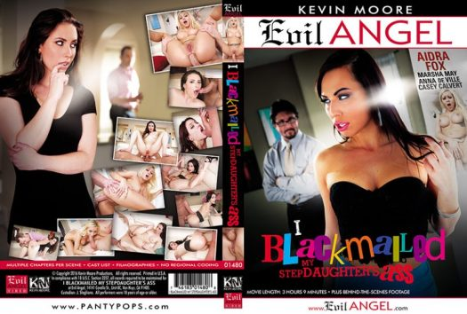 I Blackmailed My Step Daughter Porn DVD Image