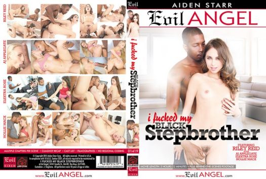 I Fucked My Black Stepbrother Porn DVD Image