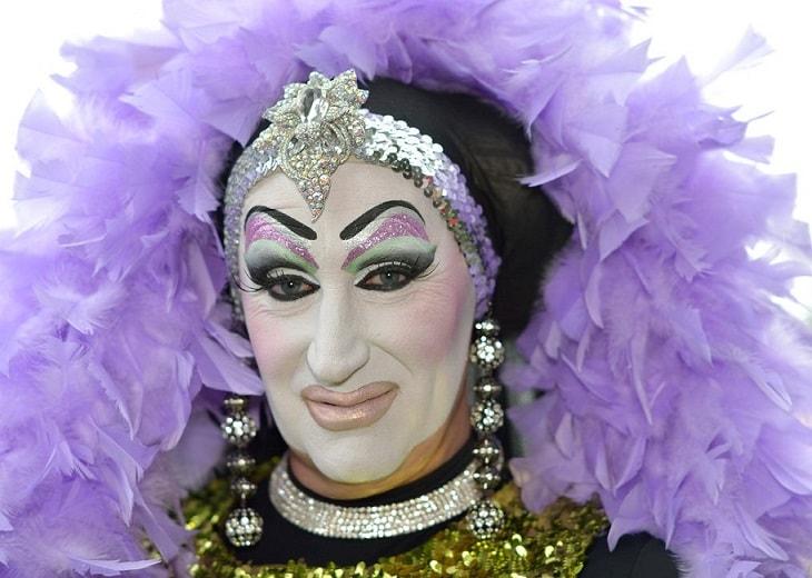 Sister Roma in Purple Photo