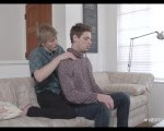 Aspiring Masseur Gets Hard Practicing On His Friend – NextDoorStudios