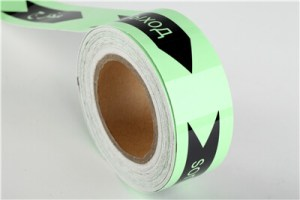 XW10-31 Digital printable photoluminscent tape