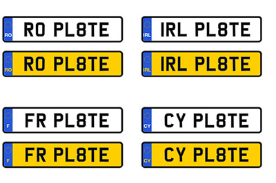 License Number Plate