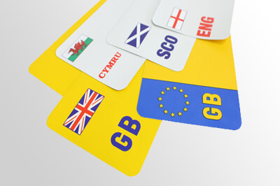 laser printing reflective number plate sheeting