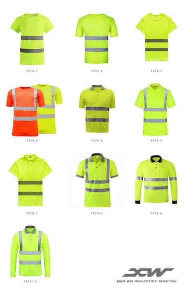 reflective shirts factory china