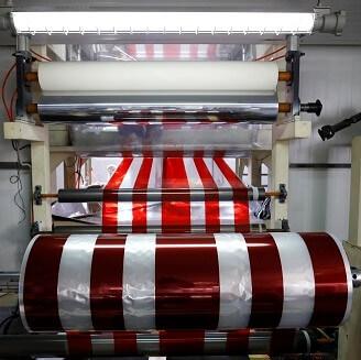 Reflective sheeting printing station