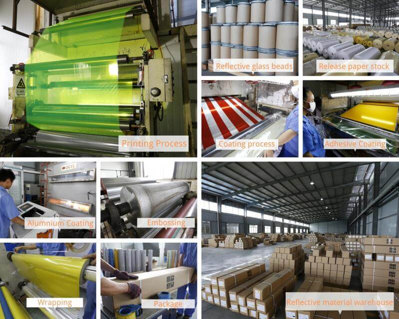 reflective material factory